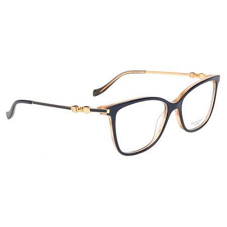 Óculos de Grau Ana Hickmann AH6343 H01/54 Azul/Dourado
