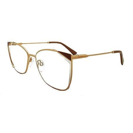 Óculos de Grau Ana Hickmann AH1403 01A/58 - Rosê