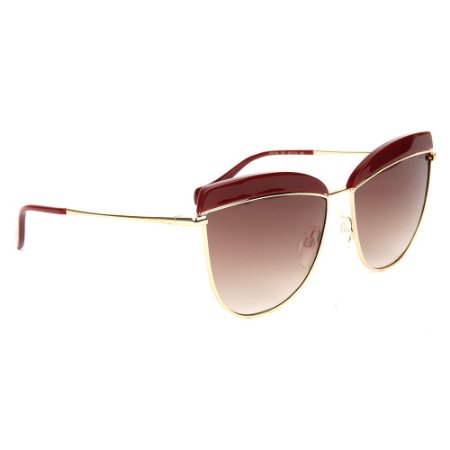 Óculos de Sol Ana Hickmann AH3190 D01/60 Dourado