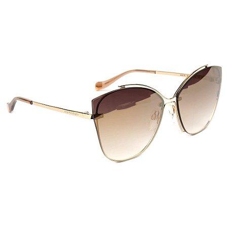 Óculos de Sol Ana Hickmann AH3175 04C/63 Dourado
