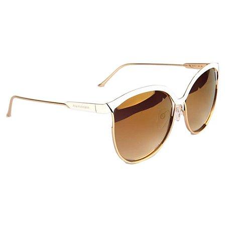 Óculos de Sol Ana Hickmann AH3164 04A/60 Branco