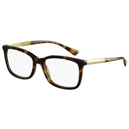 Óculos de Grau Ana Hickmann AH6266 G21/53 Tartaruga e Dourado