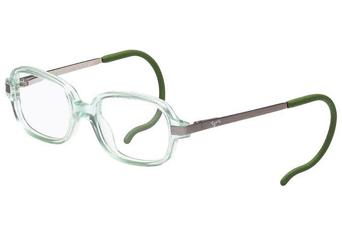 Óculos de Grau Tigor T Tigre VTT076 C2B/40 Transparente/Verde