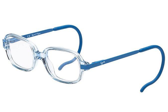 Óculos de Grau Tigor T Tigre VTT076 C01/40 Transparente/Azul