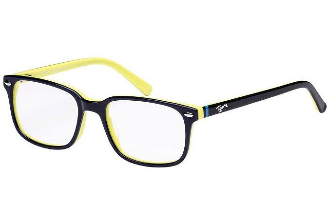 Óculos de Grau Tigor T Tigre VTT070 C2/47 Azul/Amarelo