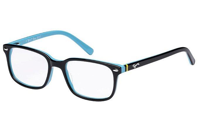Óculos de Grau Tigor T Tigre VTT070 C1/47 Preto/Azul