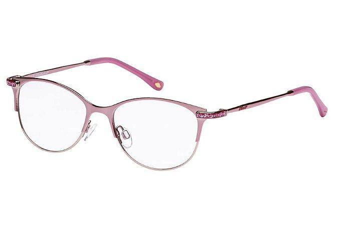Óculos de Grau Lilica Ripilica VLR108 C01/48 Rosa