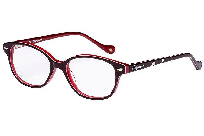 Óculos de Grau Lilica Ripilica VLR106 C06/45 Bordô