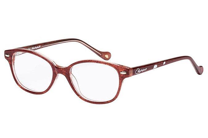 Óculos de Grau Lilica Ripilica VLR106 C03/45 Vermelho