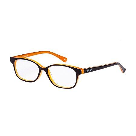 Óculos de Grau Lilica Ripilica VLR104 C02/47 Preto/Caramelo