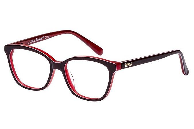 Óculos de Grau Lilica Ripilica VLR102 C3/45 Bordô