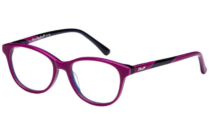 Óculos de Grau Lilica Ripilica VLR100 C3/46 Rosa