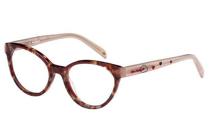 Óculos de Grau Lilica Ripilica VLR098 C06/47 Tartaruga/Rose