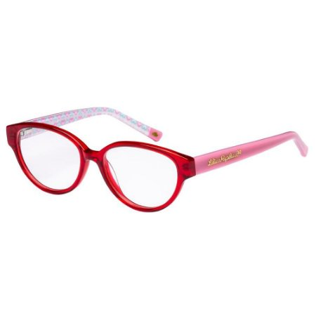 Óculos de Grau Lilica Ripilica VLR080 C02/47 Vermelho/Rosa