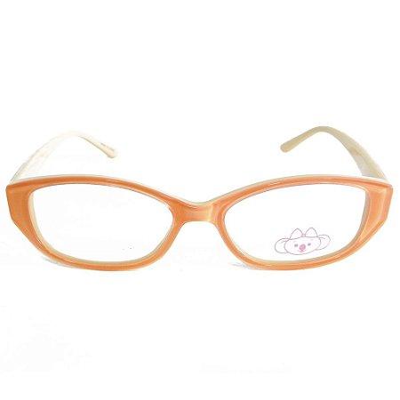 Óculos de Grau Lilica Ripilica VLR075 C2/46 Salmão