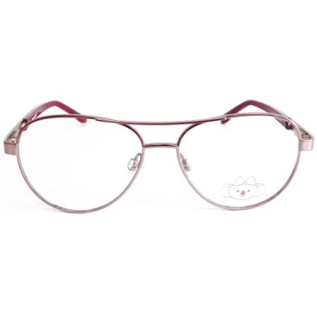 Óculos de Grau Lilica Ripilica VLR073 C2/47 Rose/Bordô