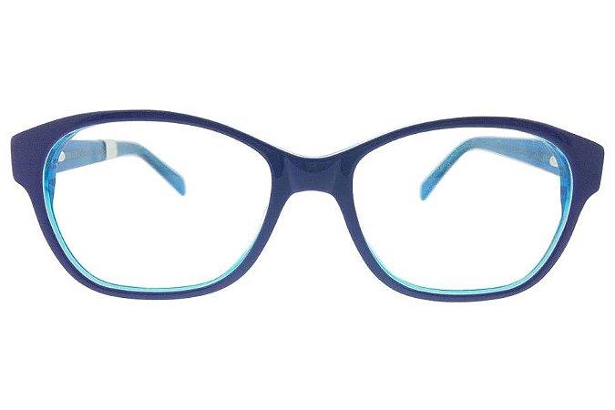 Óculos de Grau Lilica Ripilica VLR056 C1/49 Azul