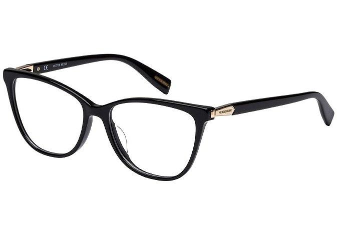 Óculos de Grau Victor Hugo VH1767 0700/53 Preto