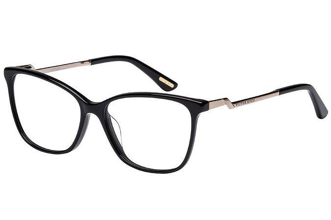 Óculos de Grau Victor Hugo VH1765 0700/54 Preto