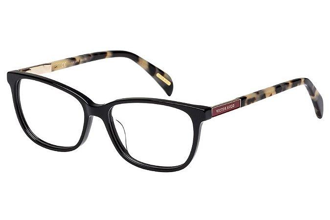 Óculos de Grau Victor Hugo VH1759 700Y/53 Preto/Mesclado