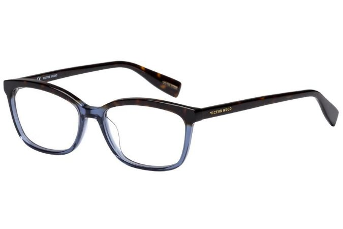 Óculos de Grau Victor Hugo VH1753 06NN/53 Azul Transparente/Tartaruga