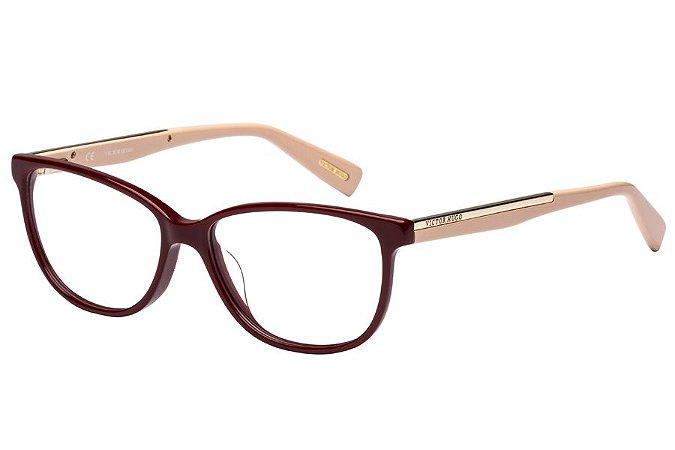 Óculos de Grau Victor Hugo VH1735 01AW/54 Bordô/Rose