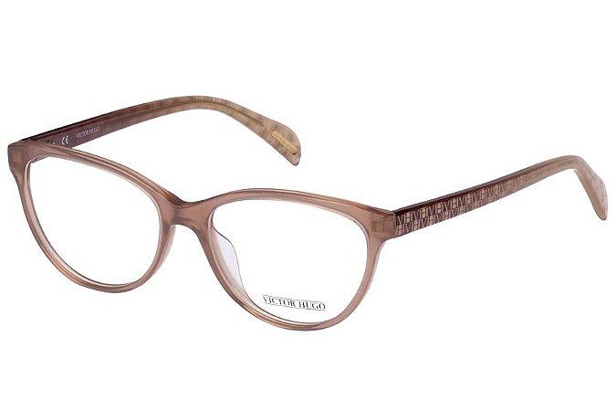 Óculos de Grau Victor Hugo VH1727 0M79/53 Bege Transparente