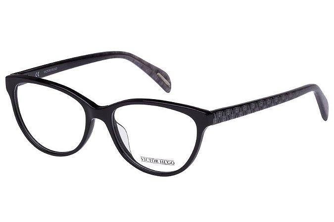 Óculos de Grau Victor Hugo VH1727 0700/53 Preto