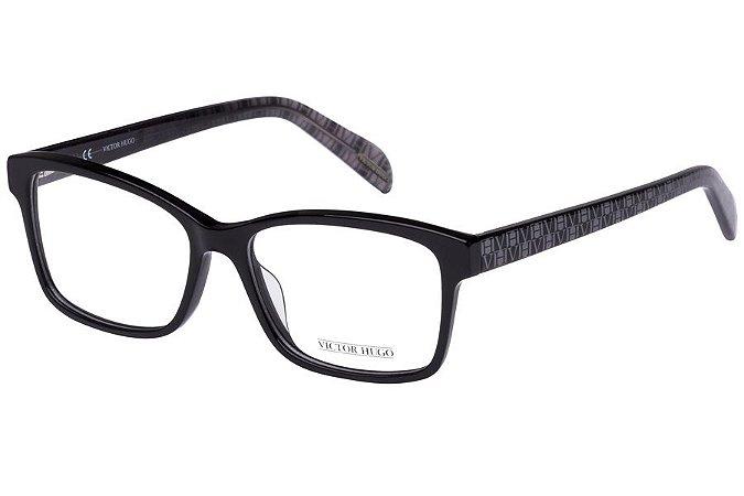 Óculos de Grau Victor Hugo VH1726 0700/54 Preto