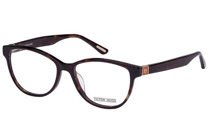 Óculos de Grau Victor Hugo VH1725 0713/53 Tartaruga