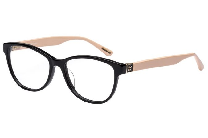 Óculos de Grau Victor Hugo VH1725 700Y/53 Preto/Rose