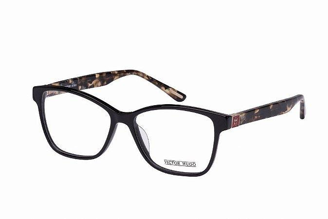 Óculos de Grau Victor Hugo VH1724 700/54 Preto