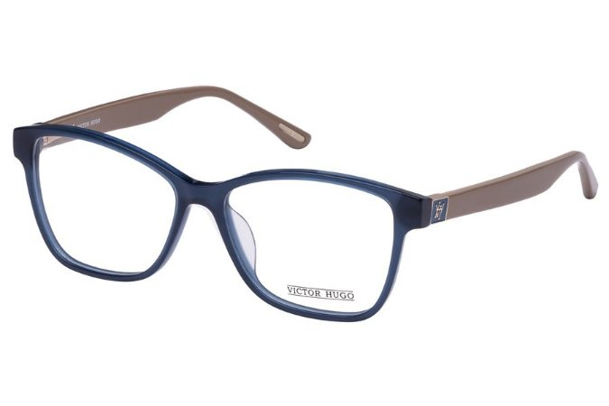 Óculos de Grau Victor Hugo VH1724 0U36/54 Azul/Bege