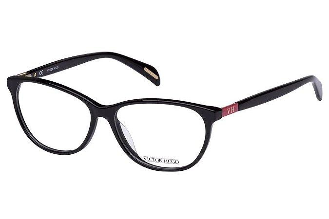Óculos de Grau Victor Hugo VH1722 0700/54 Preto