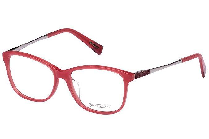 Óculos de Grau Victor Hugo VH1707 06XG/53 Rosa