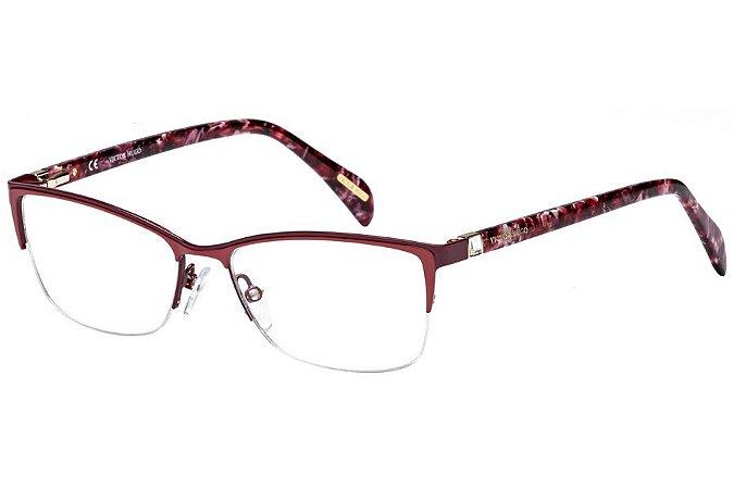 Óculos de Grau Victor Hugo VH1251S 0R50/54 Vermelho