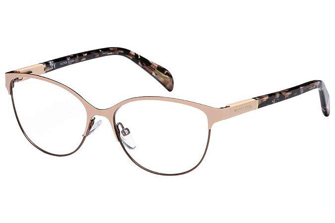 Óculos de Grau Victor Hugo VH1250 08G8/53 Rose