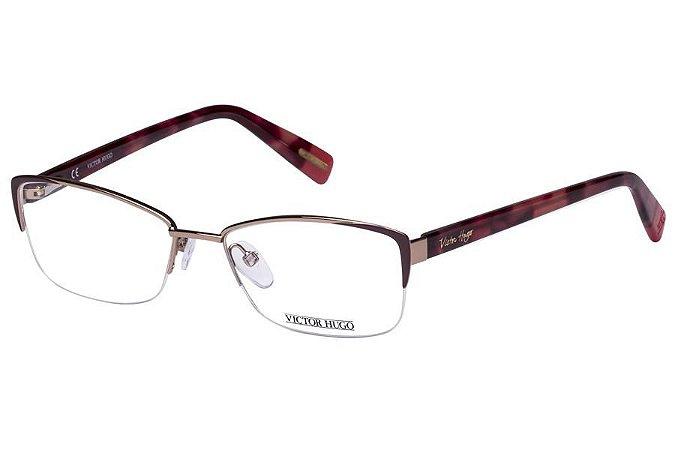 Óculos de Grau Victor Hugo VH1245 08M6/54 Tartaruga
