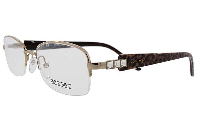 Óculos de Grau Victor Hugo VH1181S A39/52 Dourado