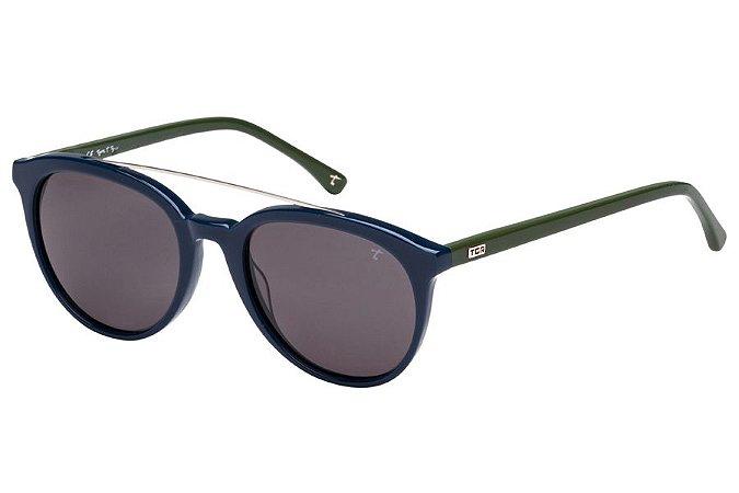 Óculos de Sol Tigor T Tigre STT076 C01/50 Azul/Verde