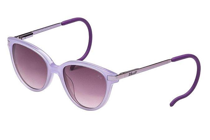 Óculos de Sol Lilica Ripilica SLR119 C02/44 Dourado/Vermelho