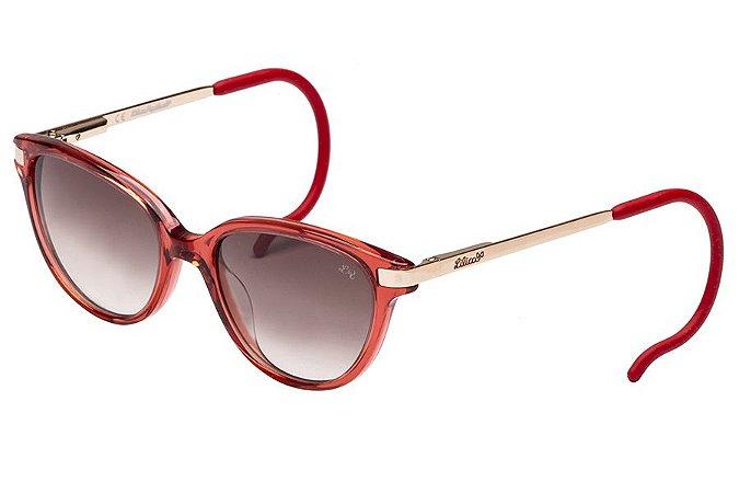 Óculos de Sol Lilica Ripilica SLR118 C01/45 Vermelho