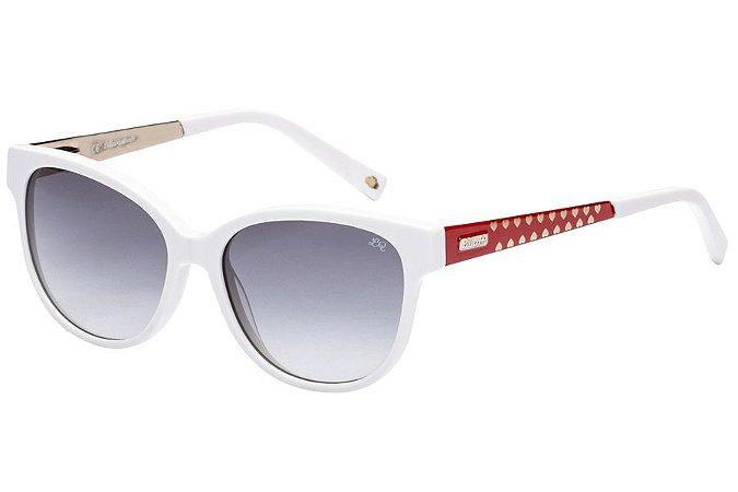 Óculos de Sol Lilica Ripilica SLR109 C05/48 Branco/Vermelho