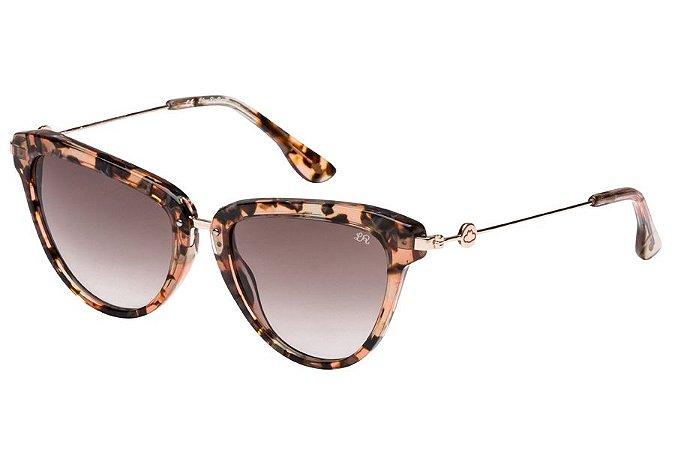 Óculos de Sol Lilica Ripilica SLR100 C01/50 Rajado Marrom