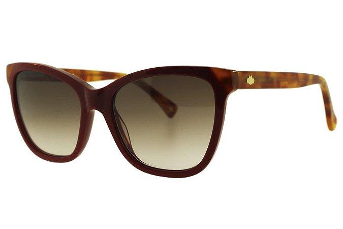 Óculos de Sol Lilica Ripilica SLR095 C04/50 Bordô/Tartaruga