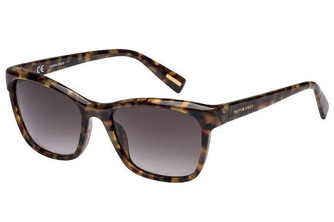 Óculos de Sol Victor Hugo SH1743 07LC/55 Tartaruga