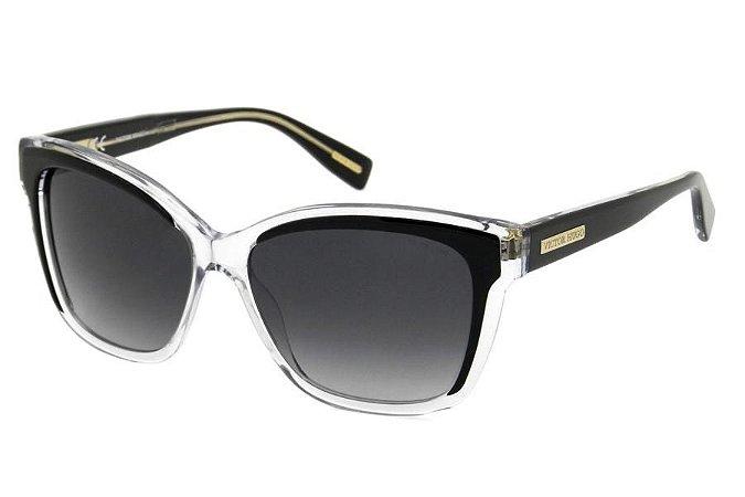 Óculos de Sol Victor Hugo SH1742 0888/56 Transparente/Preto
