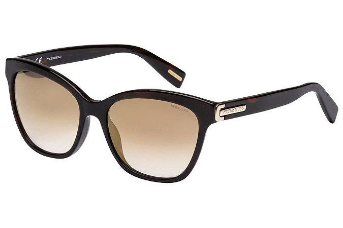 Óculos de Sol Victor Hugo SH1741 1AYG/55 Marrom