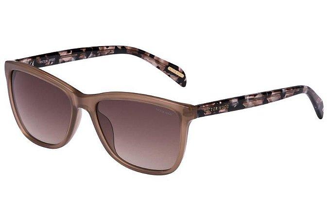 Óculos de Sol Victor Hugo SH1729 0M79/55 Bege/Mesclado