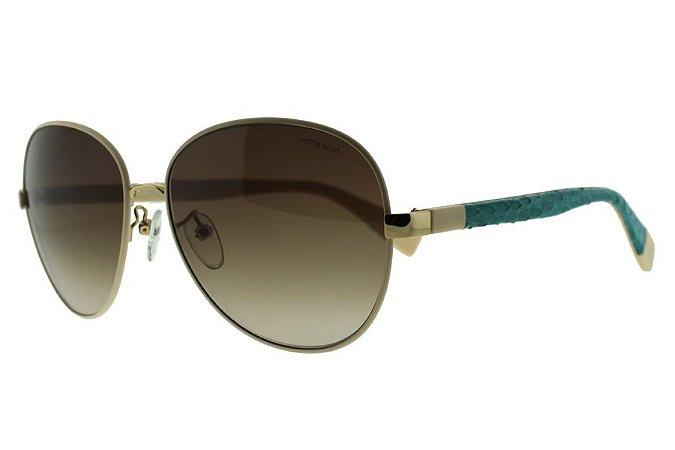 Óculos de Sol Victor Hugo SH1228 F47/58 Branco